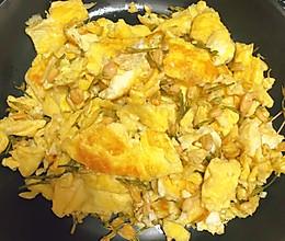 茉莉花炒鸡蛋的做法