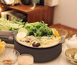 减肥增蛋白的火锅:冬日豆乳锅的做法