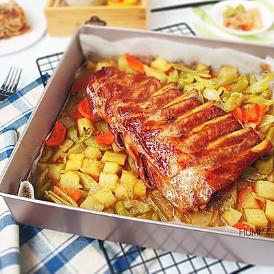 经典风味烤猪肋排