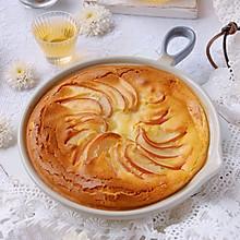 #助力高考营养餐#松软香甜快手苹果松饼