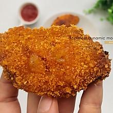 面包糠版烤鸡翅