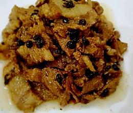 豆豉焖猪肉的做法
