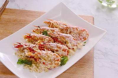 奶油麦片虾