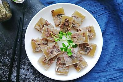 #精品菜谱挑战赛#羊糕冻~羊头版