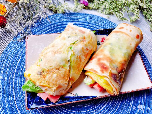 酥脆娇嫩【鸡蛋灌饼】~自制酱料的做法