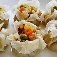 李孃孃爱厨房之一一糯米烧麦(饺子皮版)的做法图解16