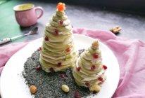 #令人羡慕的圣诞大餐#圣诞树~无泡打松饼版的做法