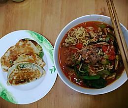 番茄酸汤肥牛面的做法