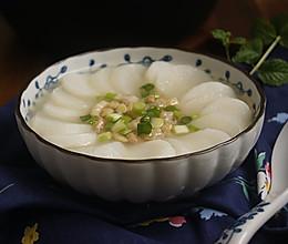 【虾米萝卜年糕】冬日营养早餐的做法