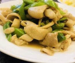 青椒炒猪大肠的做法