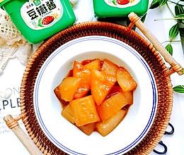 #一勺葱伴侣,成就招牌美味#酱香冬瓜的做法
