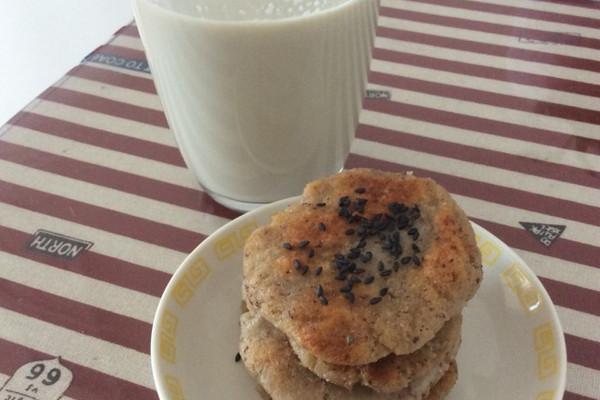 杂粮豆浆、煎饼的做法