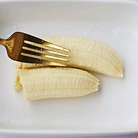 #晒出你的团圆大餐#香蕉牛奶烤燕麦的做法图解4