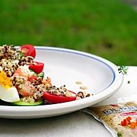 缤纷藜麦沙拉#丘比沙拉汁#的做法图解10