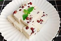 #硬核菜谱制作人#椰汁蜜豆糕的做法