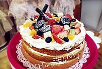 戚风蛋糕(8寸)裸蛋糕的做法