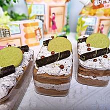 #糖小朵甜蜜控糖秘籍#奥利奥咸奶油盒子蛋糕