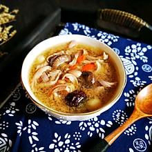 #春天肉菜这样吃#香菇红枣花生猪肚汤
