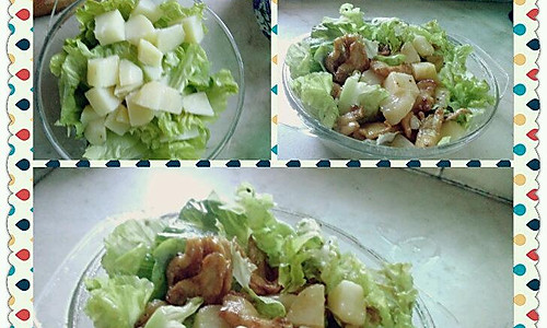 土豆鸡肉生菜沙拉的做法