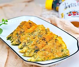 紫菜鸡蛋饼的做法