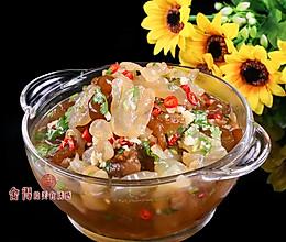 夏季爽口凉菜海蜇头冰一下, 吃起来格外的爽的做法