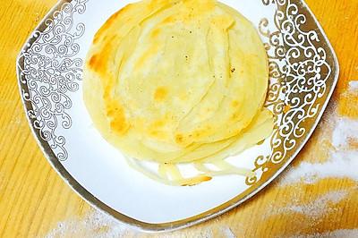 层层酥脆小油饼
