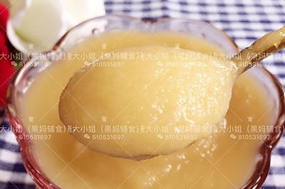莲藕苹果糊(7月+)