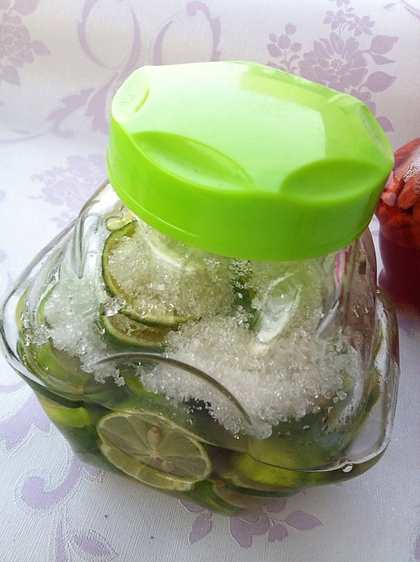 水果(青柠)酵素的做法