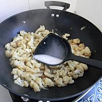菁选酱油试用之——素炒菜花的做法图解5