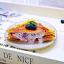 #精品菜谱挑战赛#爆浆蓝莓三明治