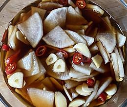 在家待着没胃口,你试试开胃萝卜片的做法