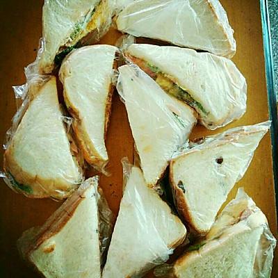 超简单又好味的三明治