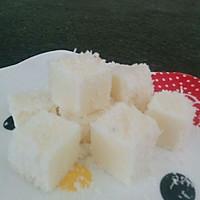 消耗淡奶油 淡奶油鲜奶椰丝小方 自制冰激凌零食
