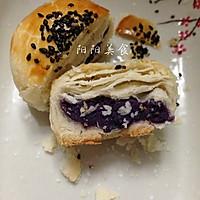 黑芝麻紫薯酥----紫色的诱惑的做法图解8