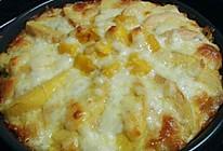 黄桃芒果披萨的做法