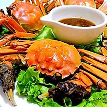 清蒸河蟹#宴客拿手菜#