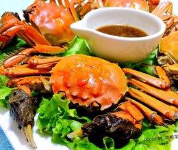 清蒸河蟹#宴客拿手菜#的做法