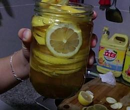柠檬泡蜜糖的做法