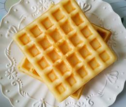 早餐机版华夫饼的做法