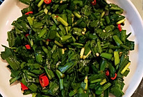凉拌韭菜简易版的做法