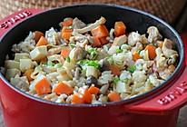 鸡肉什锦饭:料足又健康的鸡肉焖饭,一锅搞定!的做法