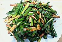 韭菜拌豆干的做法