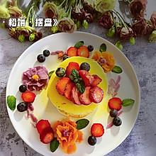 #助力高考营养餐#刮花·松饼·摆盘