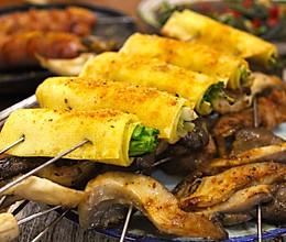 #憋在家里吃什么#烤串儿呀!的做法