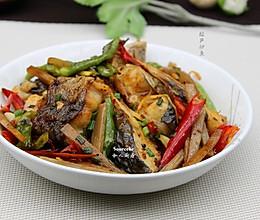 酸笋炒鱼#宴客拿手菜#的做法