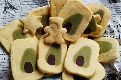 圣诞树饼干 森林饼干 免打发,简单易做曲奇饼干