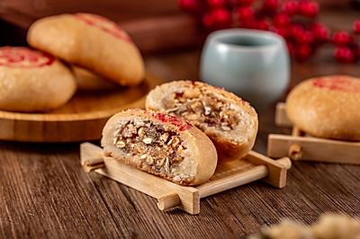 来自云南的鲜香云腿月饼:最爱的还是肉香啊~