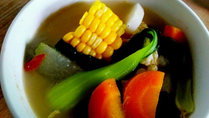 蔬菜鸡蛋饼的做法_玉米蔬菜汤的做法_菜谱_豆果美食