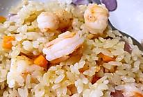 香蒜虾焖饭的做法