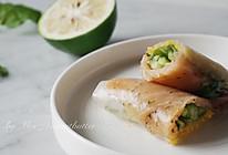 低脂健康——芒果青瓜烟熏三文鱼越南春卷的做法